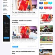 Sora Clean Blogger Templates