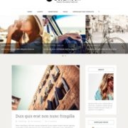 Sora Moon Blogger Templates