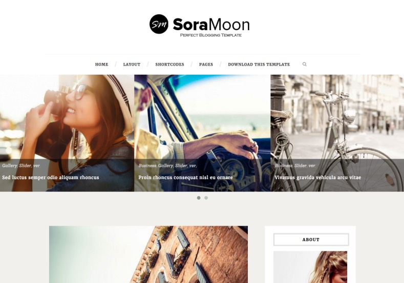 Sora Moon Simple Blogger Template. Blogger Themes. Free Blogspot templates for your blogger blog. Best suitable for news blog templates. Ads ready blogspot templates help for add adsense ad code and easily showing adsence ads in your blog. Adapted from WordPress templates are converted from WordPress themes. It is help for take your rich. Blogger magazine template specially designed for magazine blogs. The writers can utilize this themes for take blog attractive to users. Elegant themes are more used themes in most of the blogs. Use minimalist blog templates for rich look for your blog. Free premium blogger themes means, themes authors release two types of themes. One is premium another one is free. Premium templates given for cost but free themes given for no cost. You no need pay From California, USA. $10 USD, or $20 USD and more. But premium buyers get more facilities from authors But free buyers. If you run game or other animation oriented blogs, and you can try with Anime blog templates. Today the world is fashion world. So girls involve to the criteria for make their life fashionable. So we provide fashion blogger themes for make your fashionable. News is most important concept of the world. Download news blogger templates for publishing online news. You can make your blog as online shopping store. Get Online shopping store blogger template to sell your product. Navigation is most important to users find correct place. Download drop down menu, page navigation menu, breadcrumb navigation menu and vertical dropdown menu blogspot themes for free. Google Guide to blogging tips and tricks for bloggers. Google bloggers can get blogspot trick and tips for bloggers. Blog templates portfolio professional blogspot themes, You can store your life moments with your blogs with personal pages templates. Video and movie blogs owners get amazing movie blog themes for their blogs. Business templates download. We publish blogger themes for photographers. Photographers easily share photos via photography blog themes. St valentine Christmas Halloween templates. Download Slideshow slider templates for free. Under construction coming soon custom blogspot template. Best beautiful high quality Custom layouts Blog templates from templateism, SoraTemplates, templatetrackers, simple, cute free premium professional unique designs blog themes blogspot themes. Seo ready portfolio anime fashion movie movies health custom layouts best download blogspot themes simple cute free premium professional unique designs xml html code html5.
