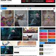 Sora One Blogger Templates
