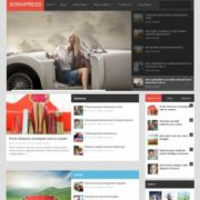 Sora Press Responsive Blogger Templates