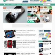 Sora Seven Clean Blogger Templates