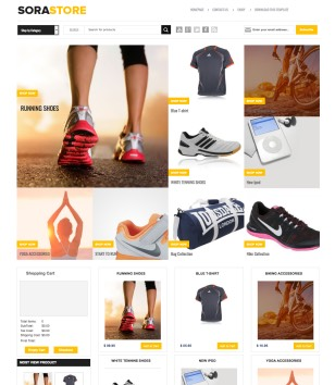 Online Shopping Store Blogger Templates 2018 ecommerce