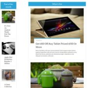 Sora Tech Responsive Blogger Templates