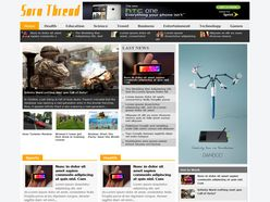 Sora Thread Responsive Blogger Template