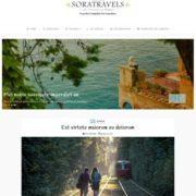 Sora Travels Blogger Templates