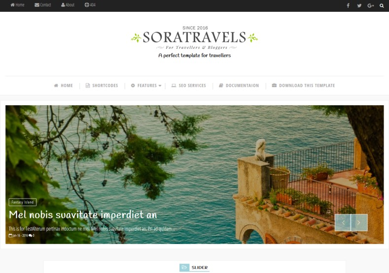 Sora Travels Blogger Template. Free blogger templates 2017 for renovate or create travel blog with blogger. Share your traveling and tour experience with this template. Sora Travels Blogger Template.