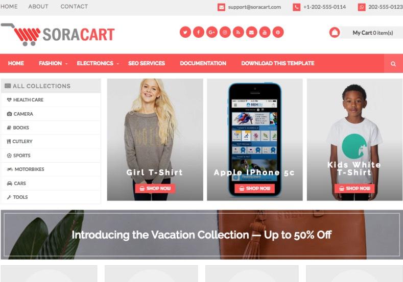 soracart shopping blogger template free graphics free wordpress themes scripts app. Black Bedroom Furniture Sets. Home Design Ideas