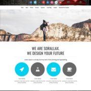 Sorallax Blogger Templates