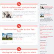 Sorbet Responsive Blogger Templates