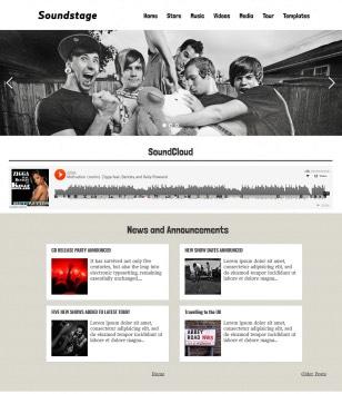Soundstage Blogger Templates
