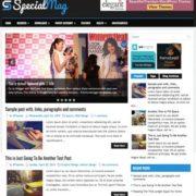 SpecialMag Blogger Templates