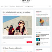 Spicer Blogger Templates