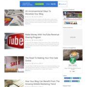 Spike Responsive Blogger Templates