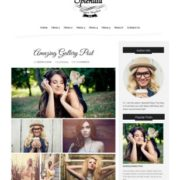 Splendid Dark Blogger Templates