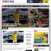 Sports Mag Blogger Templates