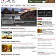 Spots Blogger Templates