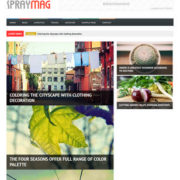 Spraymag Responsive Blogger Templates