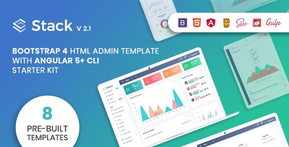 Stack - Bootstrap 4 Admin Template & Angular 5+ CLI Starter Kit