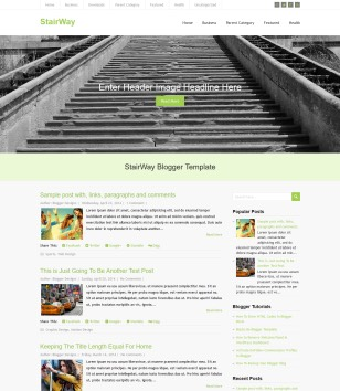 StairWay Blogger Templates