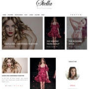 Stella Clean Blogger Templates