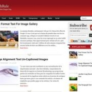 StichRule Blogger Template