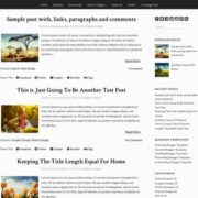 Stock Blogger Templates