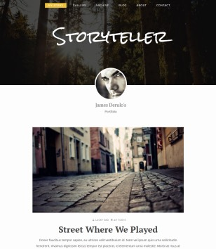 Storyteller Blogger Templates