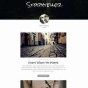 Storyteller Blogger Templates