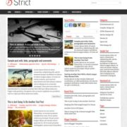 Strict Blogger Templates