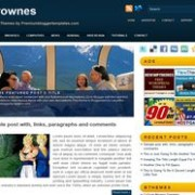 Strownes blogger template