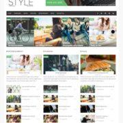 Style Magazine Blogger Templates