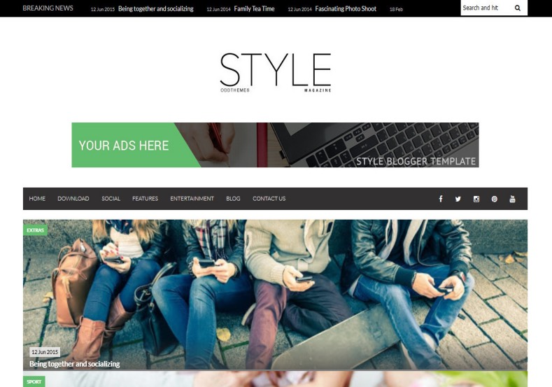 Style New Variant Blogger Template. Blogger Themes. Free Blogspot templates for your blogger blog. Best suitable for news blog templates. Best Ads ready blogspot templates help for add adsense ad code and easily showing adsence ads in your blog. Adapted from WordPress templates are converted from WordPress themes. It is help for take your rich. Blogger magazine template specially designed for magazine blogs. The writers can utilize this themes for take blog attractive to users. Elegant themes are more used themes in most of the blogs. Use minimalist blog templates for rich look for your blog. Free premium blogger themes means, themes authors release two types of themes. One is premium another one is free. Premium templates given for cost but free themes given for no cost. You no need pay From California, USA. $10 USD, or $20 USD and more. But premium buyers get more facilities from authors But free buyers. If you run game or other animation oriented blogs, and you can try with Anime blog templates. Today the world is fashion world. So girls involve to the criteria for make their life fashionable. So we provide fashion blogger themes for make your fashionable. News is most important concept of the world. Download news blogger templates for publishing online news. You can make your blog as online shopping store. Get Online shopping store blogger template to sell your product. Navigation is most important to users find correct place. Download drop down menu, page navigation menu, breadcrumb navigation menu and vertical dropdown menu blogspot themes for free. Google Guide to blogging tips and tricks for bloggers. Google bloggers can get blogspot trick and tips for bloggers. Blog templates portfolio professional blogspot themes, You can store your life moments with your blogs with personal pages templates. Video and movie blogs owners get amazing movie blog themes for their blogs. Business templates download. We publish blogger themes for photographers. Photographers easily share photos via photography blog themes. St valentine Christmas Halloween templates. Download Slideshow slider templates for free. Under construction coming soon custom blogspot template. Best beautiful high quality Custom layouts Blog templates from templateism, SoraTemplates, templatetrackers, simple, cute free premium professional unique designs blog themes blogspot themes. Seo ready portfolio anime fashion movie movies health custom layouts best download blogspot themes simple cute free premium professional unique designs xml html code html5.Style New Variant Blogger Template