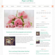 Sugar and Spice Blogger Templates
