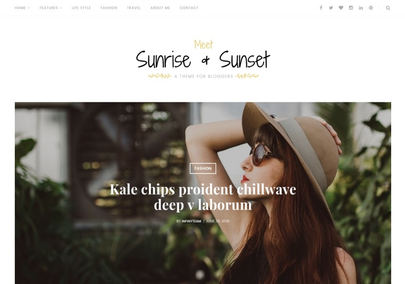 Sunrise and Sunset Blogger Template. Best quality premium blogger templates 2017 for girly and fashion blogger blogs. Premium templates buy. Sunrise and Sunset Blogger Template.
