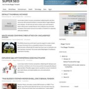 Super SEO Blogger Templatea