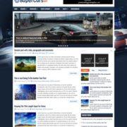 SuperCarsWp Blogger Templates