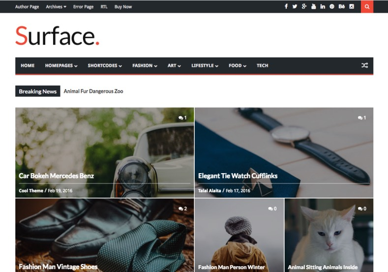 Surface Blogger Template. Blogger templates 2017 with so many features like responsive design and ads ready and much more features. Buy premium themes. Surface Blogger Template.