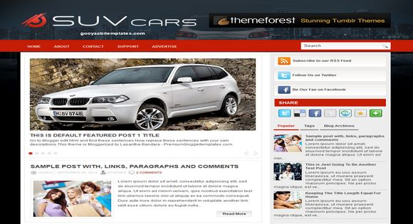 Suv Cars blogger template. Free Blogger templates. Blog templates. Template blogger, professional blogger templates free. blogspot themes, blog templates. Template blogger. blogspot templates 2013. template blogger 2013, templates para blogger, soccer blogger, blog templates blogger, blogger news templates. templates para blogspot. Templates free blogger blog templates. Download 1 column, 2 column. 2 columns, 3 column, 3 columns blog templates. Free Blogger templates, template blogger. 4 column templates Blog templates. Free Blogger templates free. Template blogger, blog templates. Download Ads ready, adapted from WordPress template blogger. blog templates Abstract, dark colors. Blog templates magazine, Elegant, grunge, fresh, web2.0 template blogger. Minimalist, rounded corners blog templates. Download templates Gallery, vintage, textured, vector,  Simple floral.  Free premium, clean, 3d templates.  Anime, animals download. Free Art book, cars, cartoons, city, computers. Free Download Culture desktop family fantasy fashion templates download blog templates. Food and drink, games, gadgets, geometric blog templates. Girls, home internet health love music movies kids blog templates. Blogger download blog templates Interior, nature, neutral. Free News online store online shopping online shopping store. Free Blogger templates free template blogger, blog templates. Free download People personal, personal pages template blogger. Software space science video unique business templates download template blogger. Education entertainment photography sport travel cars and motorsports. St valentine Christmas Halloween template blogger. Download Slideshow slider, tabs tapped widget ready template blogger. Email subscription widget ready social bookmark ready post thumbnails under construction custom navbar template blogger. Free download Seo ready. Free download Footer columns, 3 columns footer, 4columns footer. Download Login ready, login support template blogger. Drop down menu
