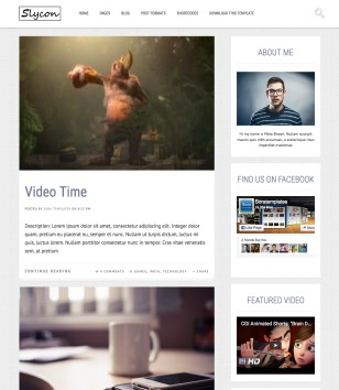 Sycon Blogger Templates