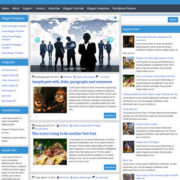 Symetry Responsive Blogger Templates
