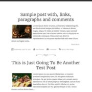 Syntax Responsive Blogger Templates