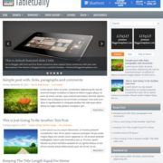 TabletDaily Blogger Templates