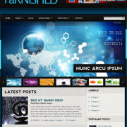 Tarnished Blogger Templates