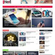 Tech Next Blogger Templates