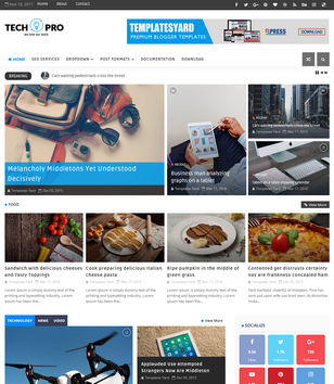 Business blogger templates 2018 free download tech pro blogger templates wajeb Images