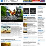 TechBox Blogger Templates