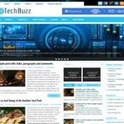 TechBuzz Responsive Blogger Template