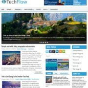 TechFlow Blogger Templates