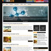 TechLive Blogger Templates